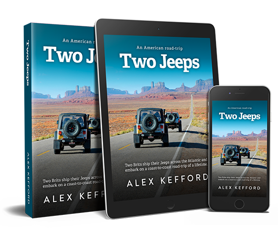 Two Jeeps: An American road-trip - paperback, ebook and audiobook