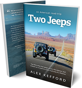 Two Jeeps book